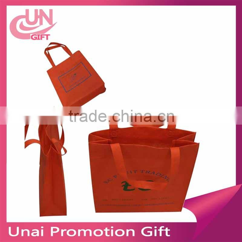 Promotion Nonwoven Fabric Bag Custom Print Eco Shopping Bag Cloth Bags For Clothes Books Anything With Your Logo