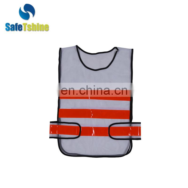 3m hi visibility with reflective strips pvc tape safety vest