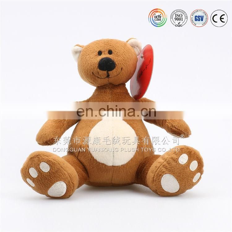 Jumping plush bears antique style&plush sit on animals toys