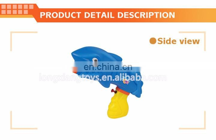Best selling summer toys funny plastic children's shark water gun for wholesale