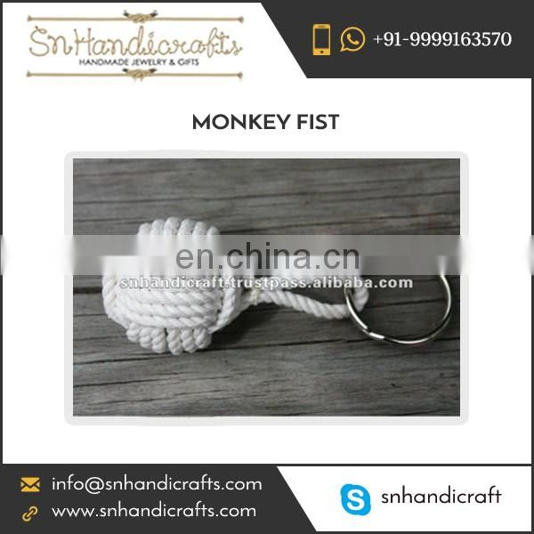 Precise Designs Monkey Fist Nautical Rope Keychain Available at Reliable Price for Sale