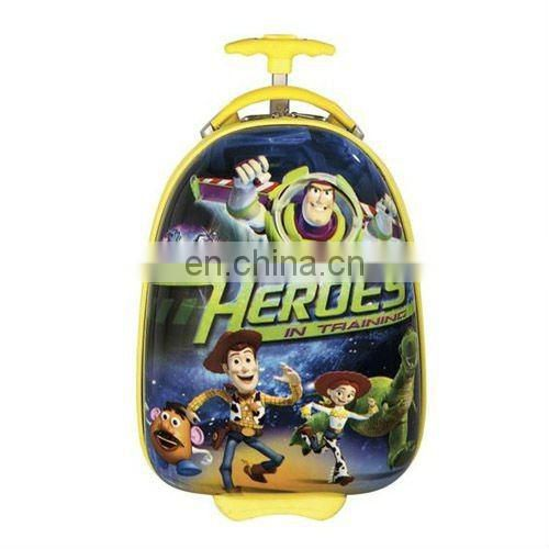 2015 heroes trolly school bag withnice print in cheap price