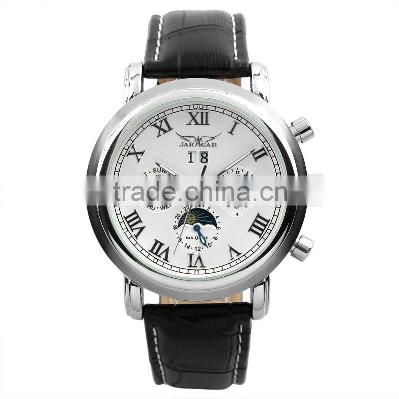 Leather watch Men Wrist Watches Leather Strap Watches 2014 Watch Men Luxury