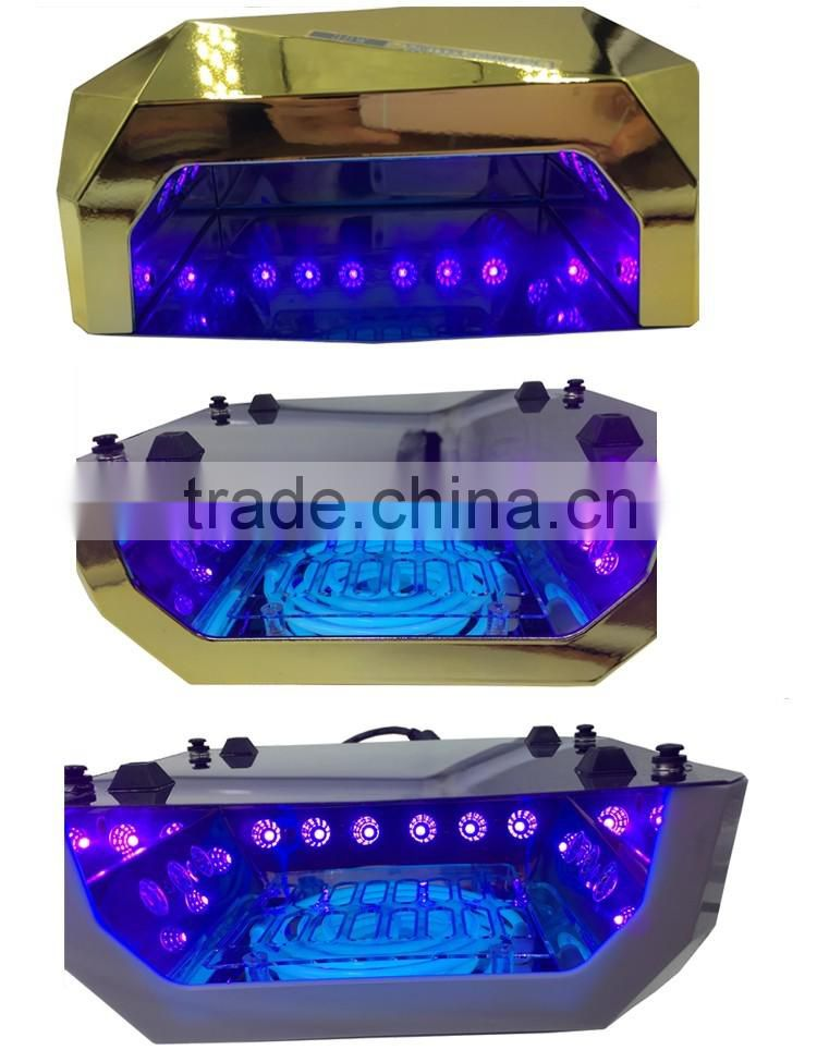 36W CCFL + LED/3 CCFL nail lamp/CCFL LED nail dryer