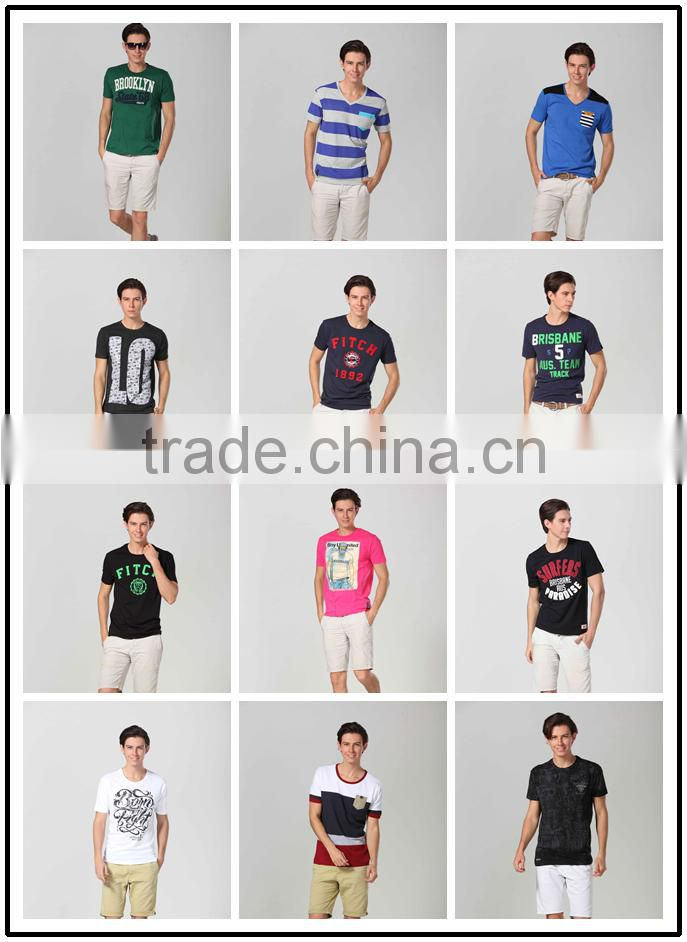 custom high quality cotton T-Shirt With Short Sleeve And O Neck t shirt