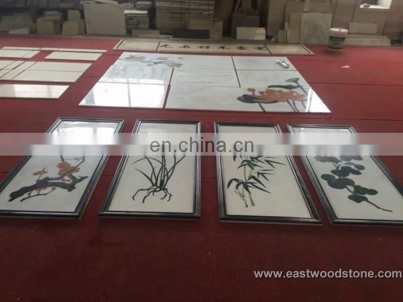 marble mosaic painting designs