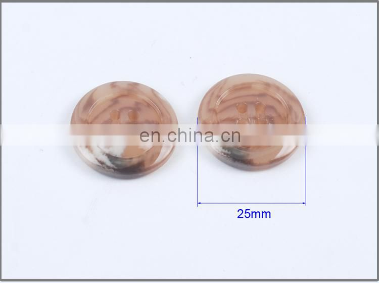 High Quality Fancy 4 holes Plastic Resin Button for Coats BP40548
