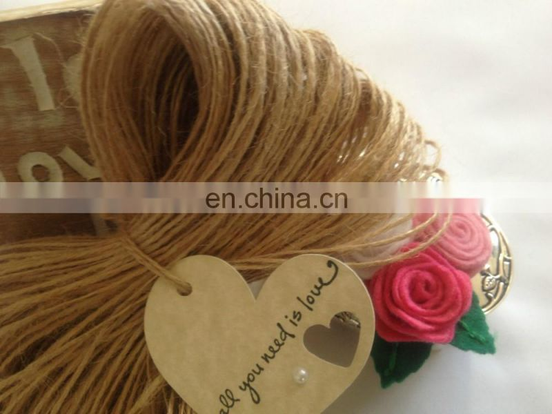 1.5mm Premium Quality Natural Jute Twine Rustic String