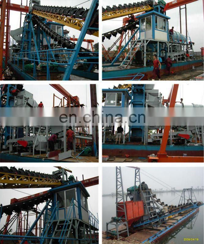 Gold Bucket Dredging Boat for Sale