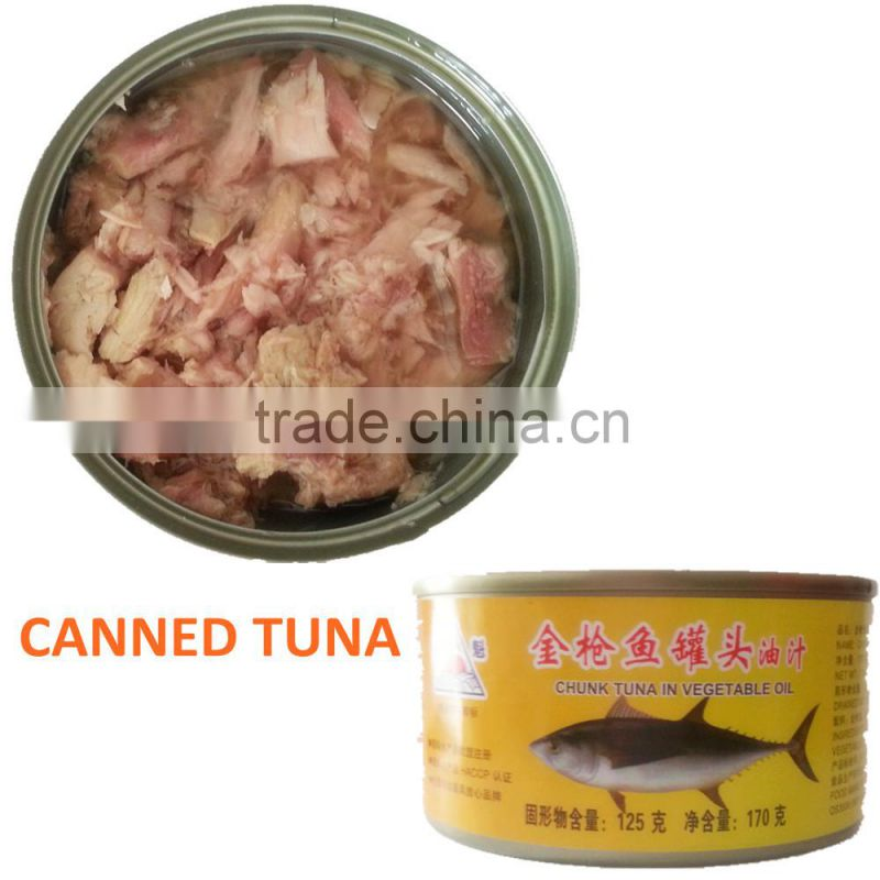 canned tuna with HALAL,HACCP supply of Canned Foods from