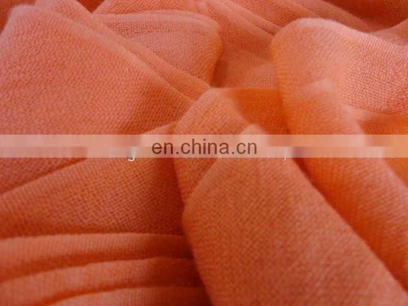 Plain 100% merino wool fabric