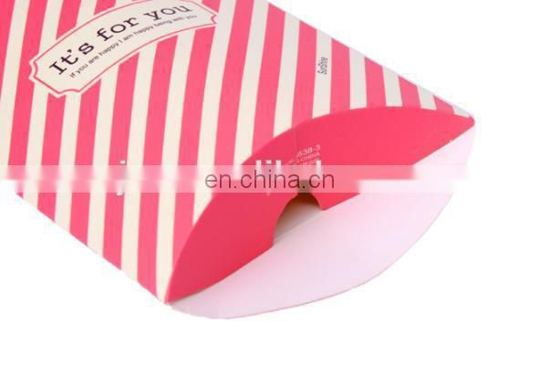 2015 fashion small foldable sweet paper packaging box