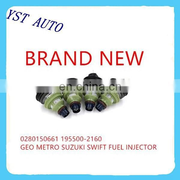 New Fuel Injector for Chevy Geo Metro Suzuki Swift OEM:195500-2160 ,0280150661