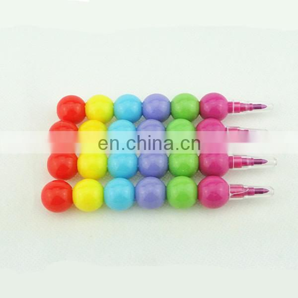 stacking crayon 6 colors stacker crayon without printing