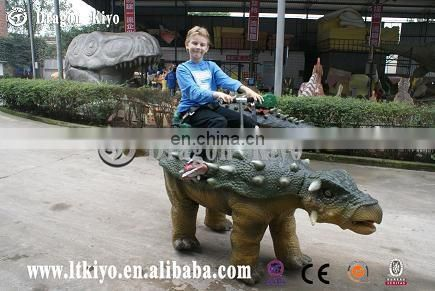 2017 hot sale animatronic ride dinosaur for theme park for sale