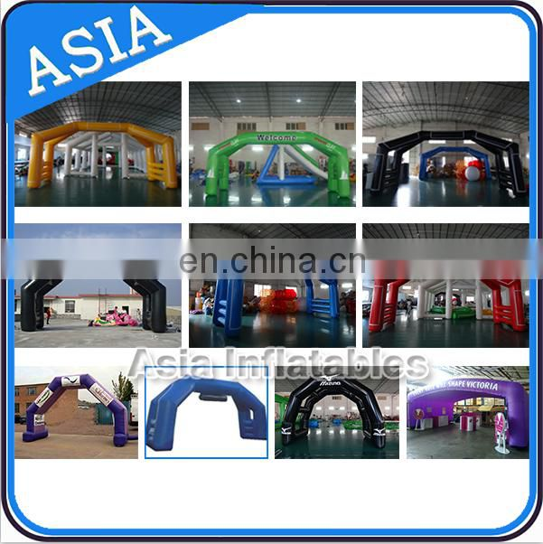 Inflatable Archway / Race Inflatable Finish line Arch For Riding Bicycle Competition