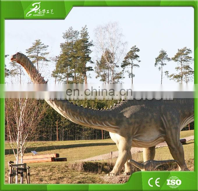 Exhibition Equipment Life-Size Robotic Animals Model Dinosaurs
