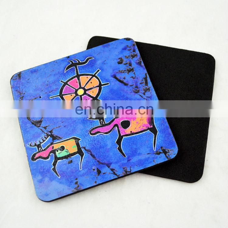Custom printing promotional EVA beer coaster