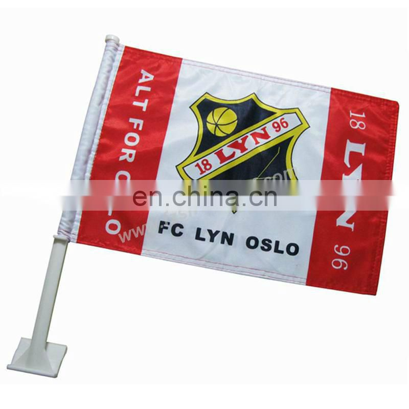 National Promotional Car Flag/ Hand Held Flags