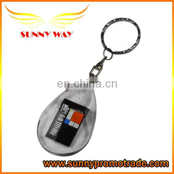 2017 Fashionable Style High Quality Blank Acrylic Keychain
