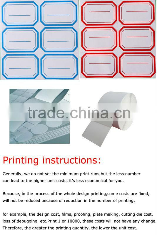 Self-adhesive office stationery paper stickers tags posted 3 * 2.5 cm