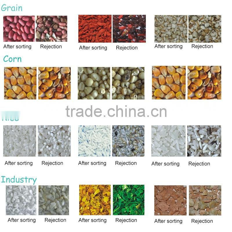 CCD Grain Color Sorter Coffee Bean Color Sorting