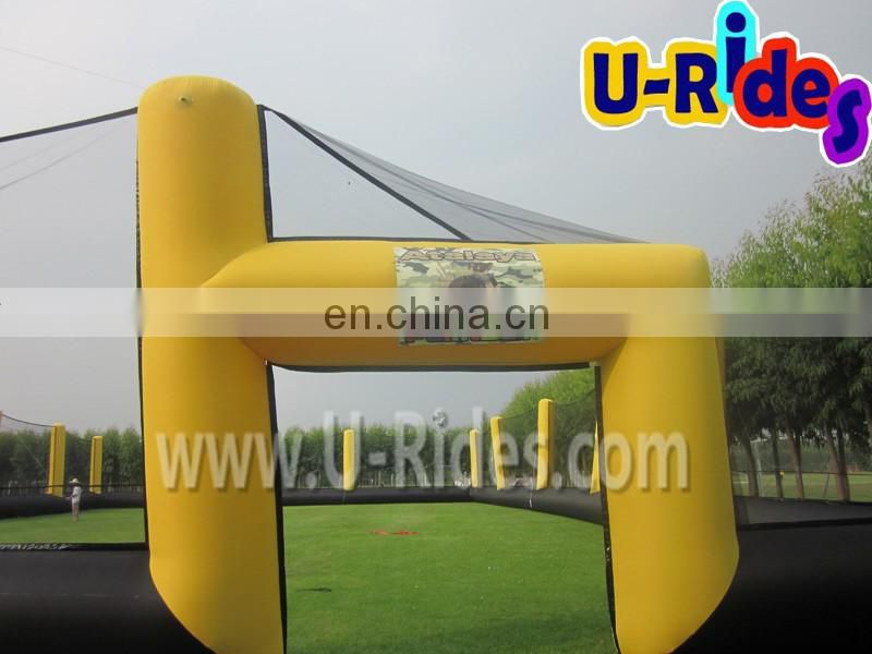 Gadgets hot selling Inflatable paintball netting Inflatable Paintball net