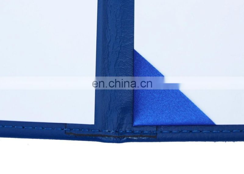 Hot sale 2016 royal blue leatherette diploma covers wholesale
