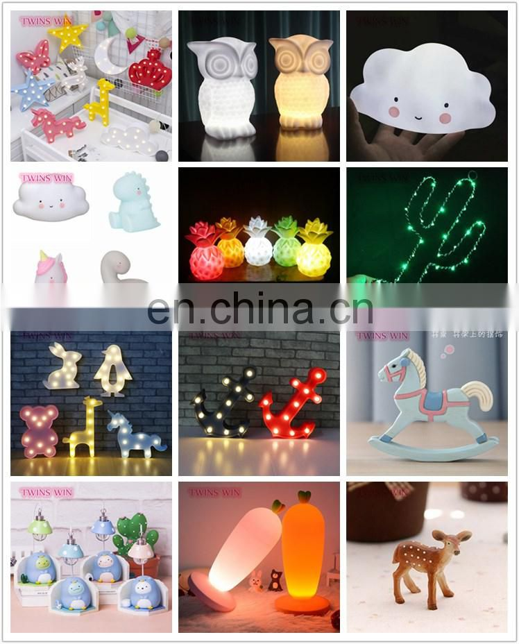 Top sale in eBay Amazon cartoon night light Crown angel butterfly bells led decoration light decorations star night light
