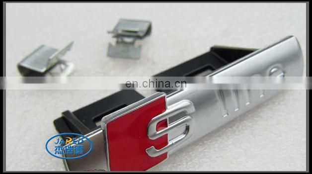 cheap plastic ABS plated car nameplate emblem for wholesale