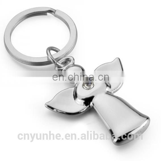 Engraved Silver Dog Keyring