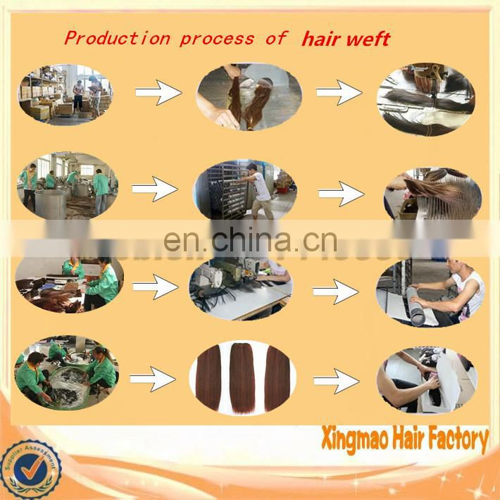 Fast delivery factory wholesale purple human hair weaving