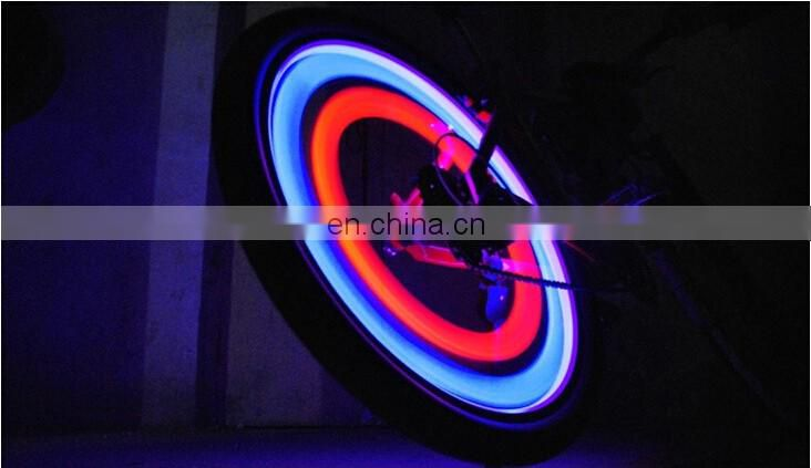 bike wheel light/2015 Newest 2 PCS Sport Bike Bicycle Cycling Wheel Spoke Tyre Bright LED Light
