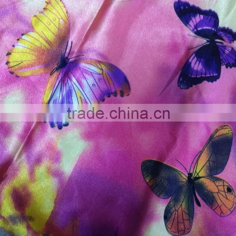 2015 Custom Digital cationic Polyester Spandex Printed Knitting Fabric microfiber fabric dye for home textile