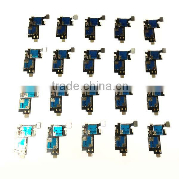 for samsung galaxy note 2 n7100 sim card / micro sd card connector