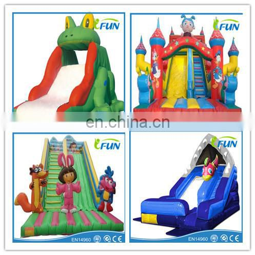 2014 best selling inflatable pool water slide inflatable swimming pool with slide