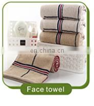 China supplier wholesale thicken solid color jacquard 100 cotton hotel face towel