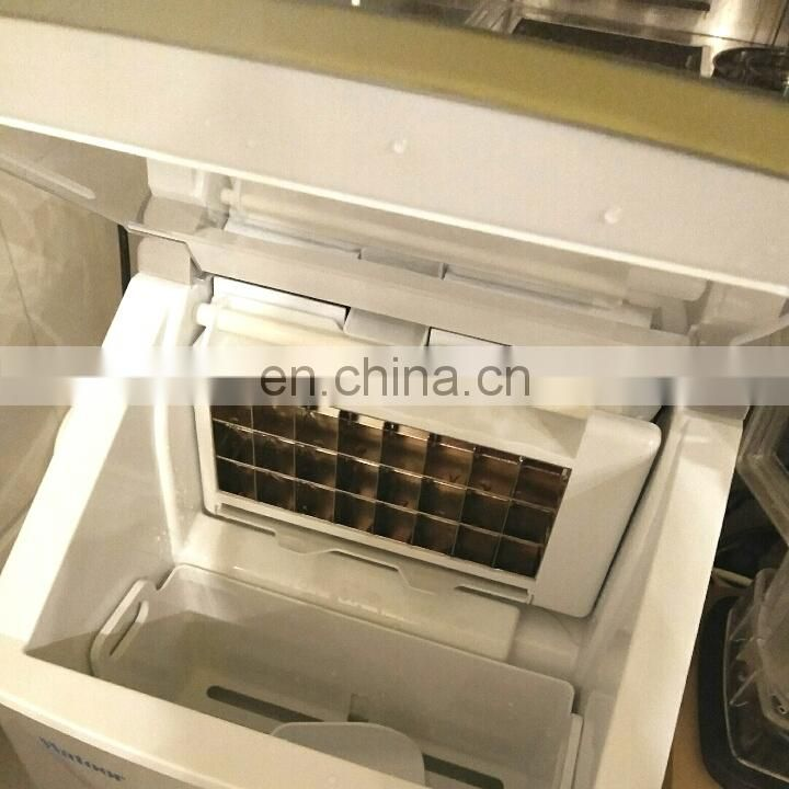 Home Business Ice Maker Commercial Ice Machines For Milk Tea Bar Square Ice Pellet