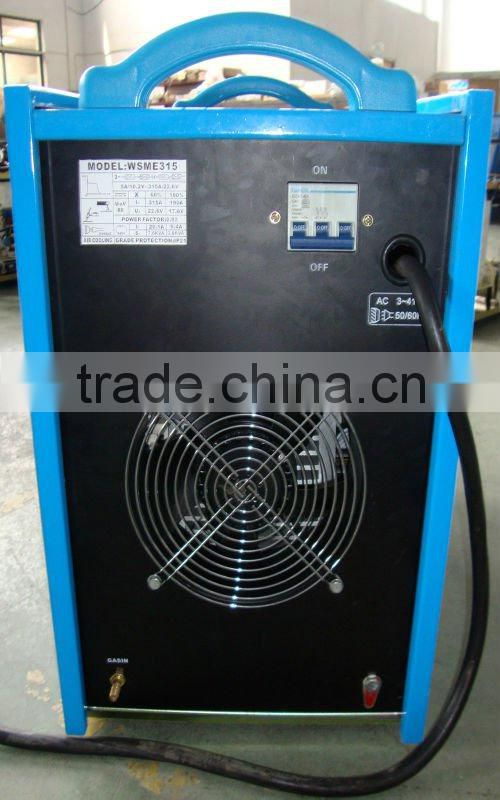 Shanghai Rongyi IGBT Inverter AC/DC Pulse TIG/MMA high frequency hot welding machine WSME315