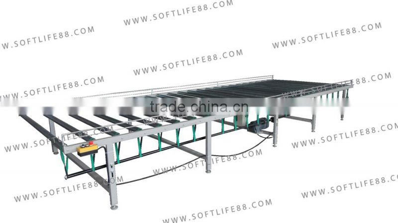 Auto Mattress Machine Belt Conveyor Table