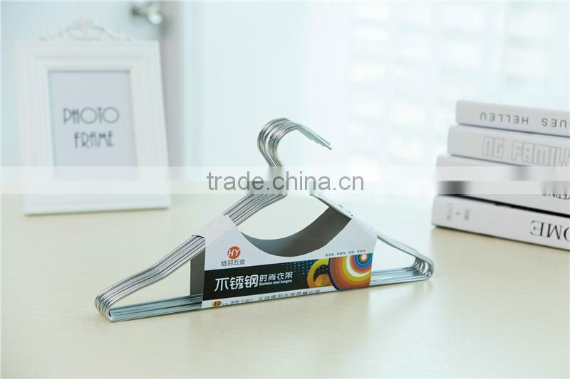 High quality Hot sales metal wonder clothes hanger with activity hook