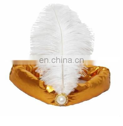 party supplies gold Arab feather headband