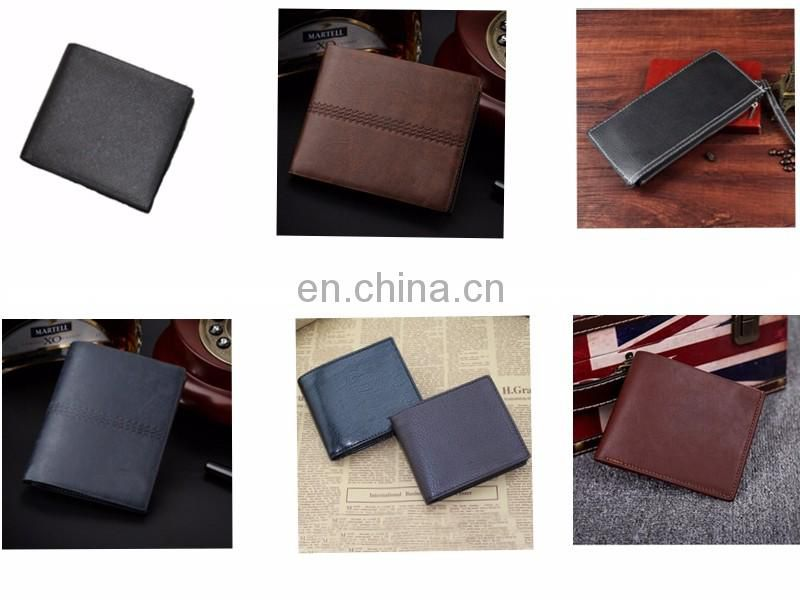 china wholesale custom leather mens wallet