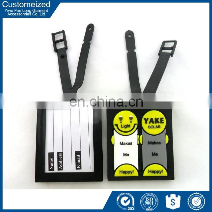 2016 widely used plastic luggage tag covers