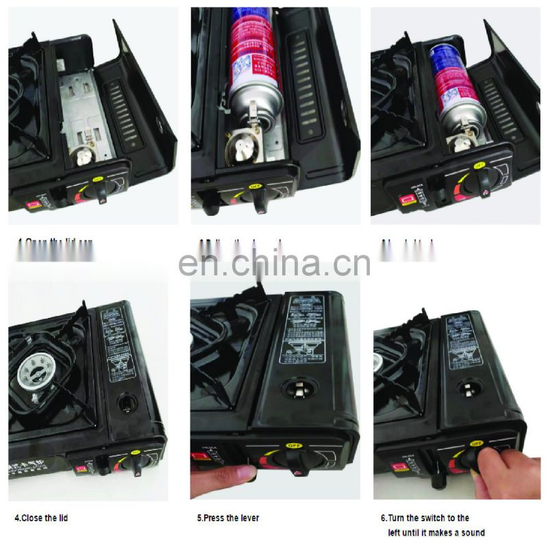 Hebei butane gas refill machine 220g and gas butane cartridge