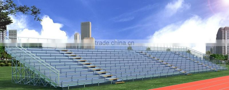 MC-TG03 beach Volleyball grandstand beacherst ribune seating system portable indoor bleachers