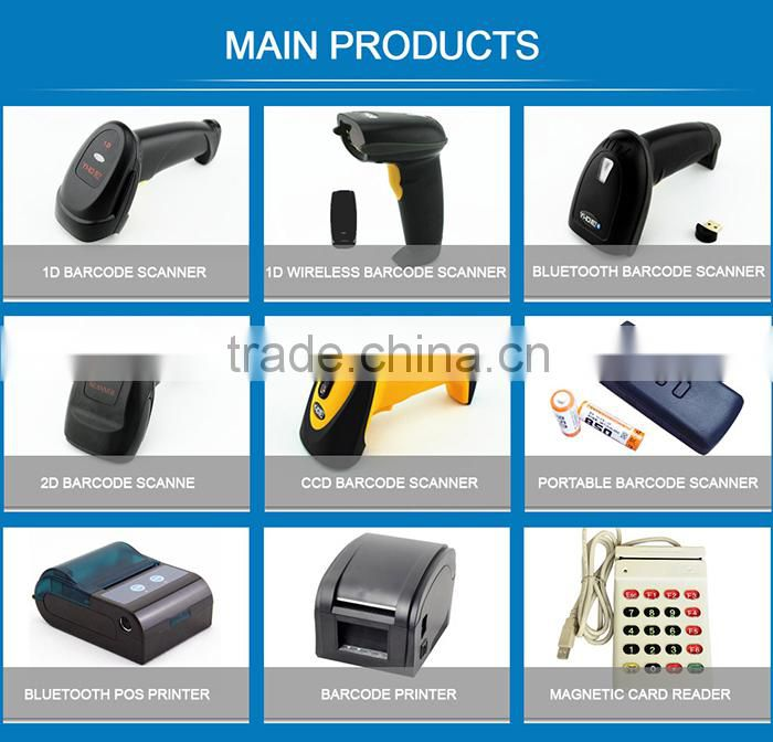 best quality USB 1D handheld rugged barcode scanner with sim card
