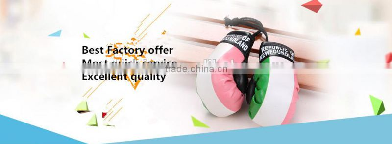 Wholesale hot item PVC mini boxing glove keychains with