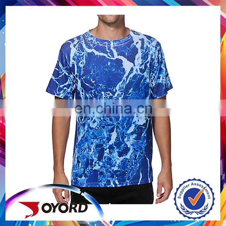 2015 manufacturer fitness unique 3d pictures t shirt