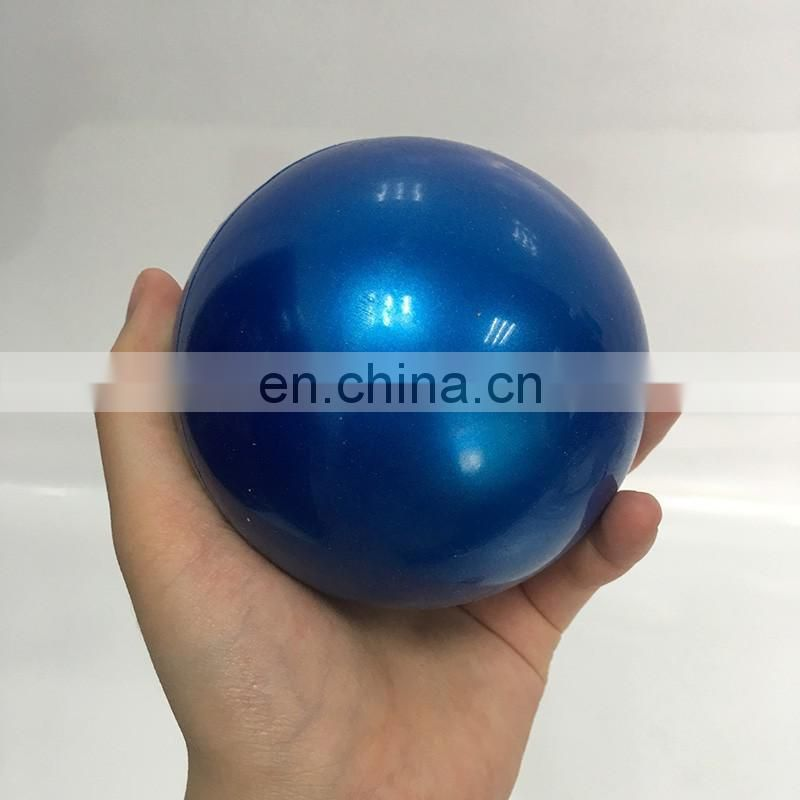 Soft PVC Pilates Toning Ball Weighted Training Ball